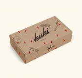 Touch My Thighs And Feed Me Pie – Kuki Kuchenkiste Packaging Design