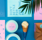 Bright & Fun Yum Guy Ice Cream Branding by STRETCHD