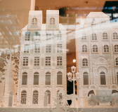 Bookstore Window Display By Edinas Paper Inspired by the World of Hans Christian Andersen