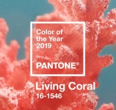 Pantone's Color Of The Year 2019 is a Vibrant, Life-affirming Living Coral
