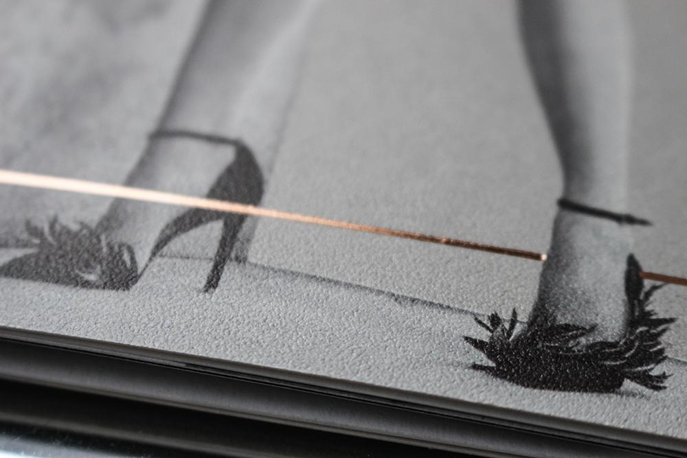 Patrizia Pepe Catalog Made of Gmund Urban Cement Dust Paper