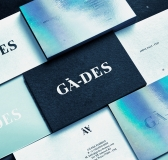 Striking GÄ-DES Fashion Branding by Studio B.O.B.
