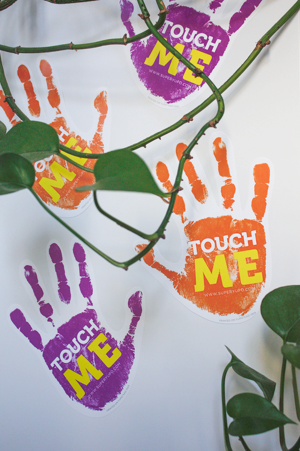 Touch Me Yupo Sticker