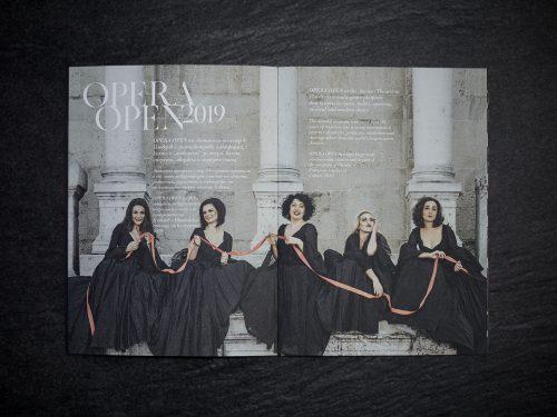 Plovdiv State Opera Program by Grafis Design Studio