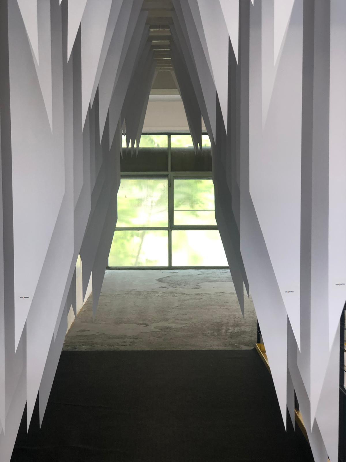 Paper Passage Installation at the Zagreb Design Week