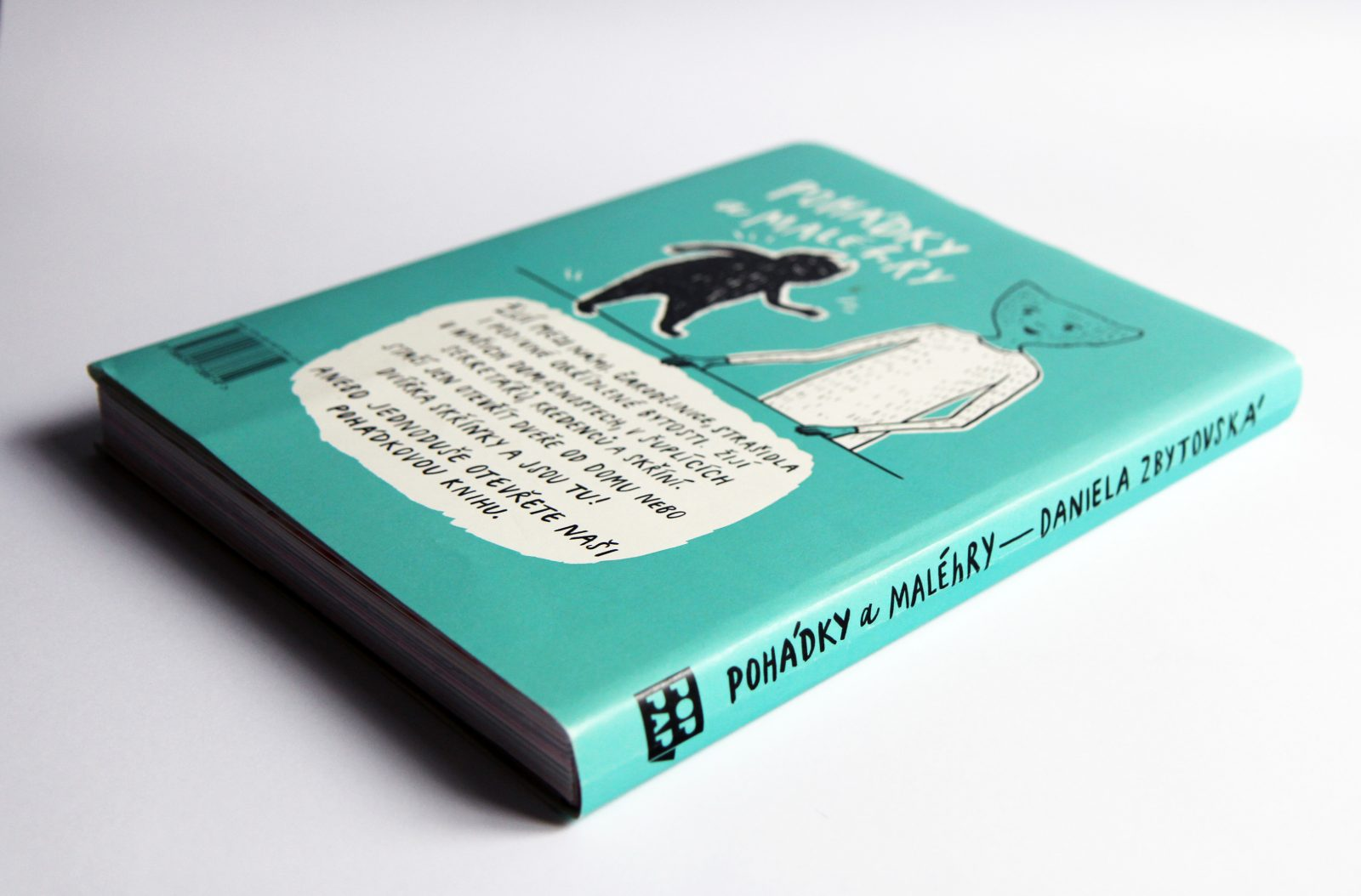 Pohádky a MALÉhRY Is Not an Ordinary Children's Book