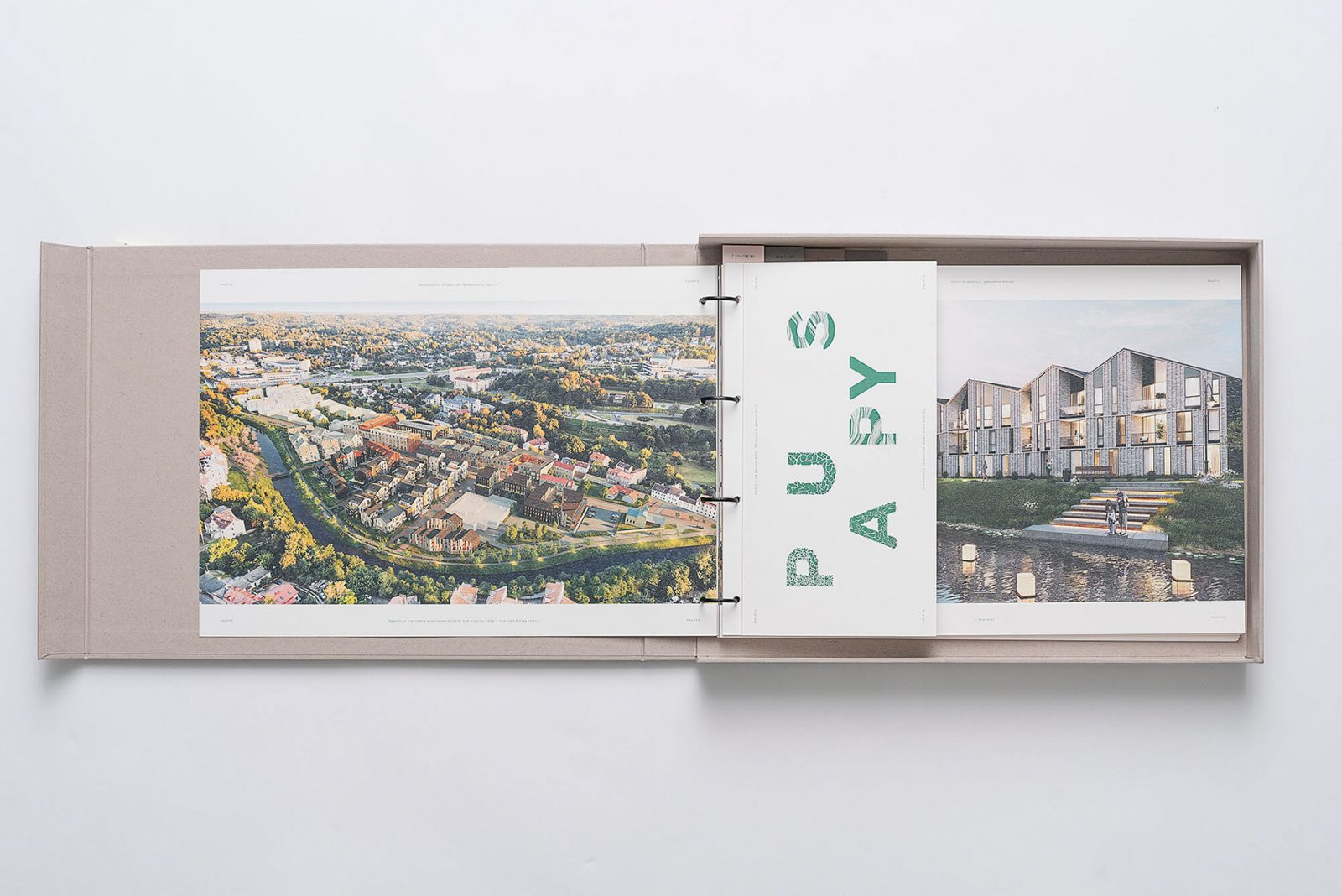 Branding of Paupys, new city district of Vilnius, by GoodSpeed Branding