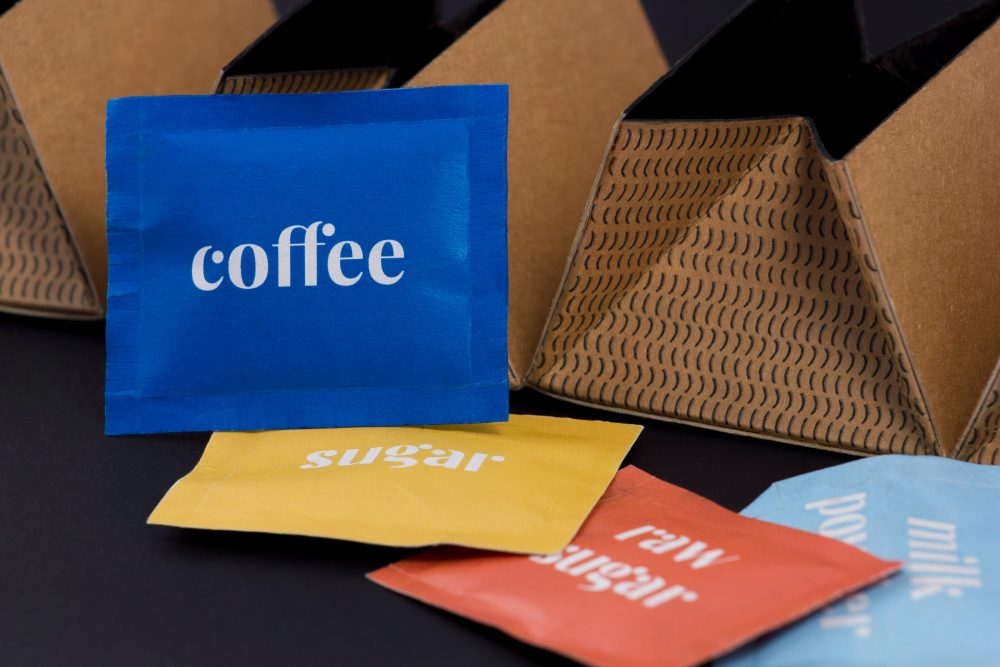coffee packaging by Babett Barta and Bence Málnási