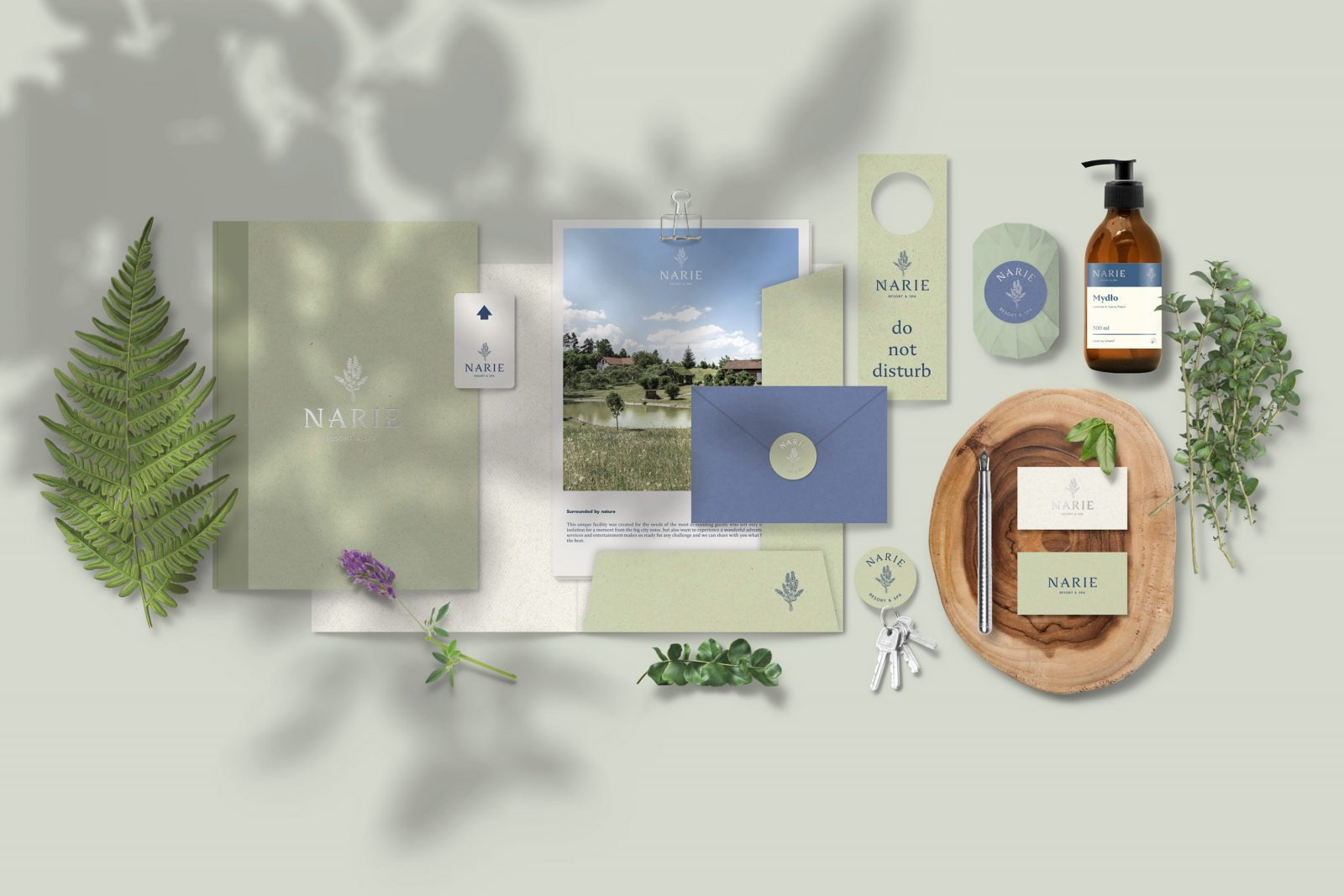 Rebranding for Luxury Resort & Spa Narie by Lange & Lange