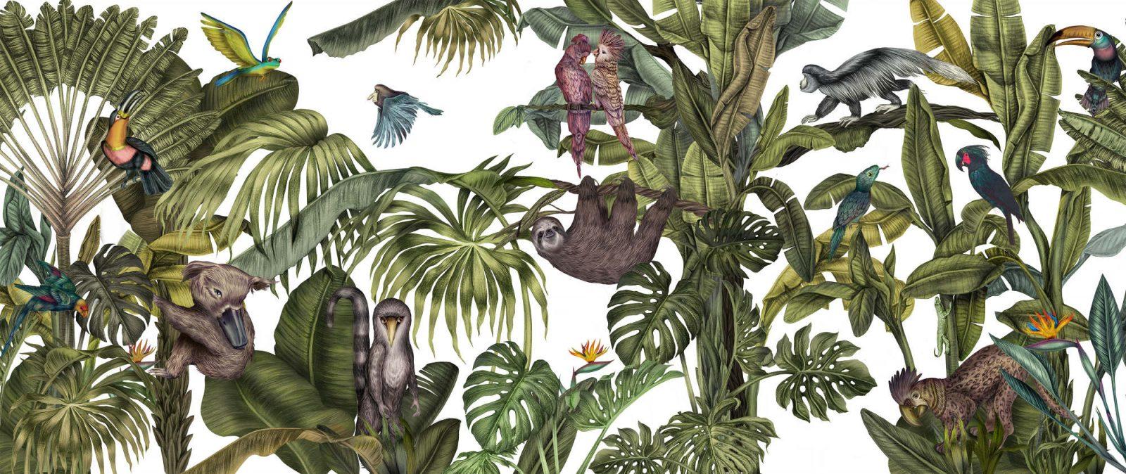 A Lush Landscape of Botanical Life by Karina Eibatova