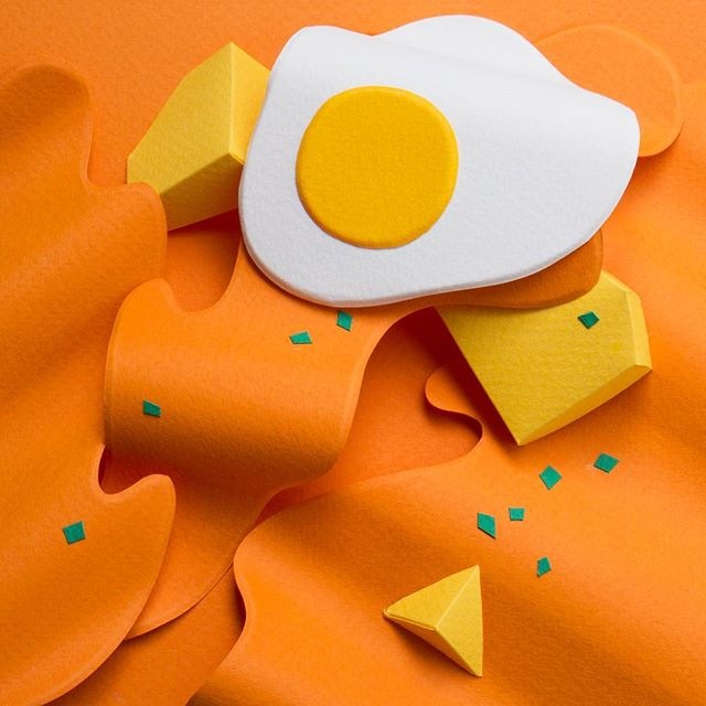 Paper Artist Reina Takahashi Creates 100 Paper Breakfasts