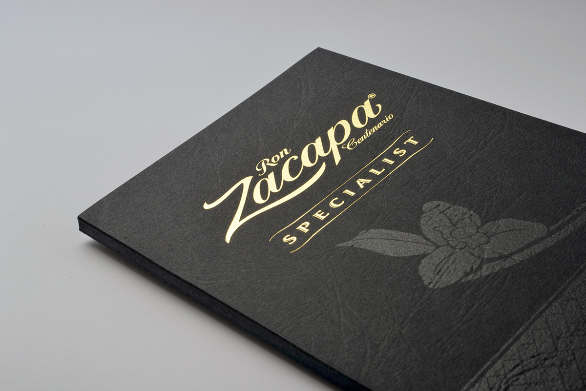 Zacapa Rum Brochure for Specialist by Gregar & Sons Studio