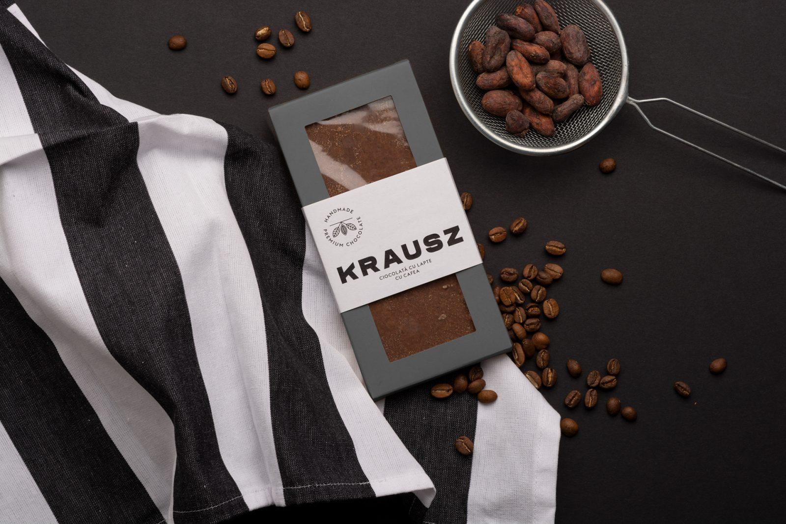 Chocolate Confectionery Krausz Packaging & Branding by Peltan-Brosz Studio
