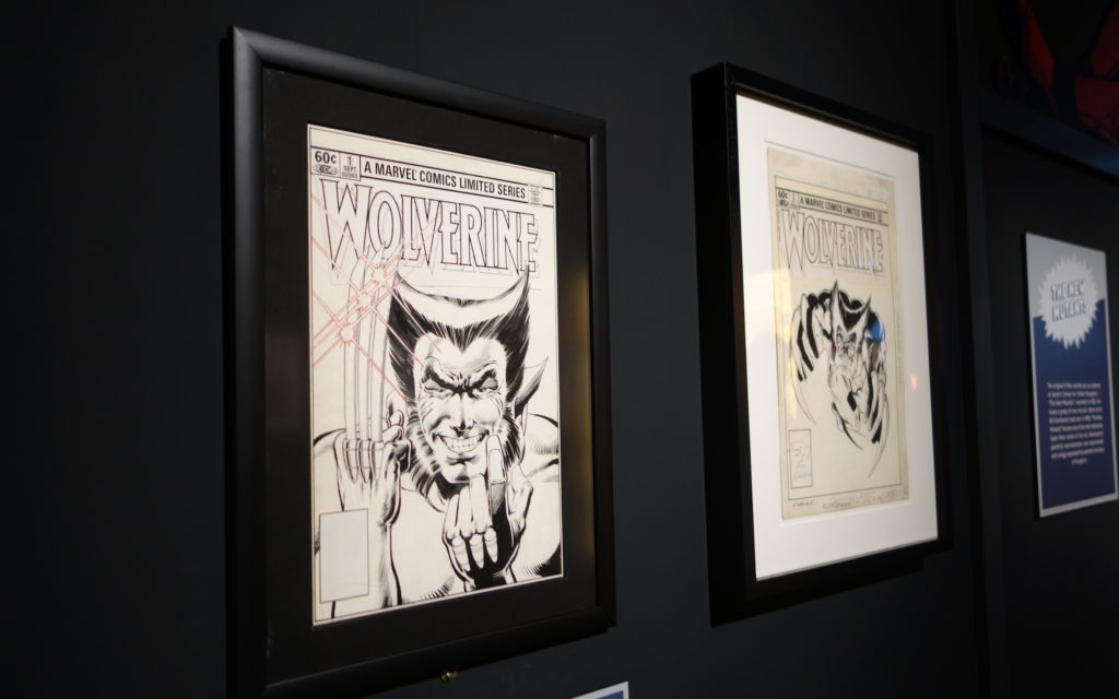 Wolverine art works