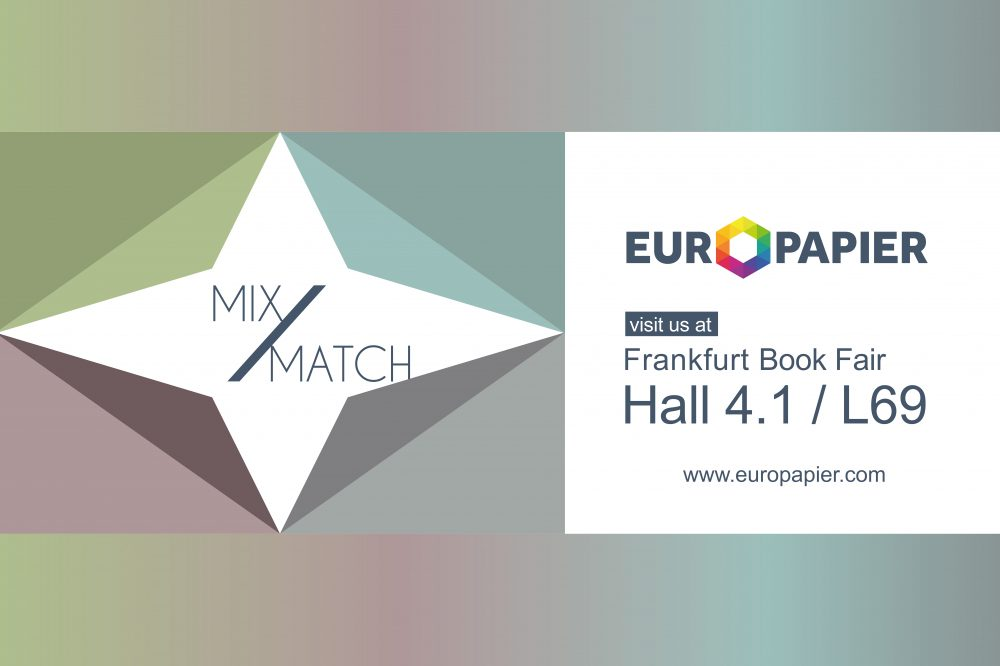 Visit us at Frankfurt Book Fair 2019 Europapier