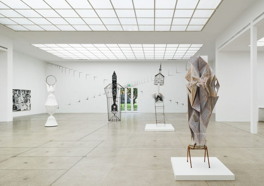 Tillmann Kaiser Im Dom exhibition at Secession