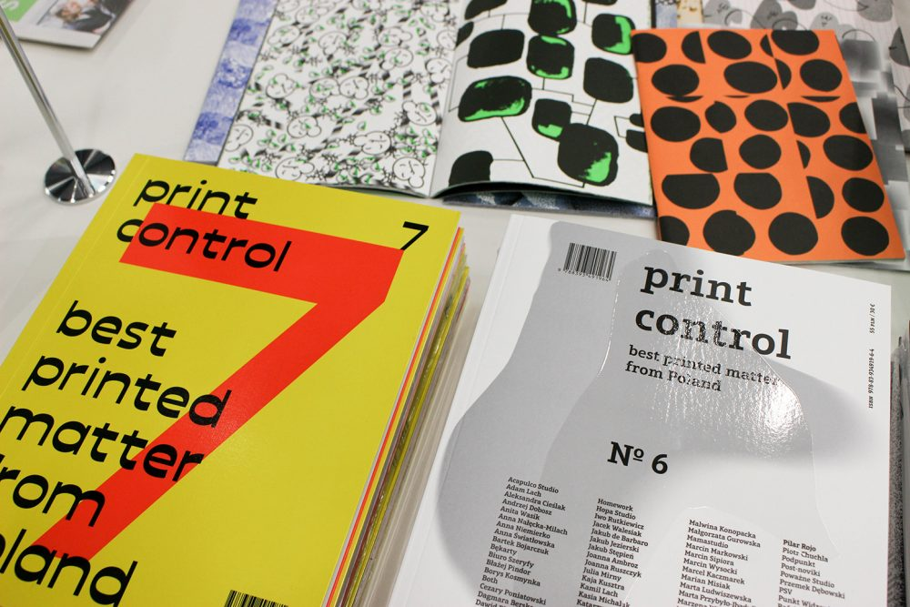 Print Control 2019 editions showcasing the best printed matter from Poland