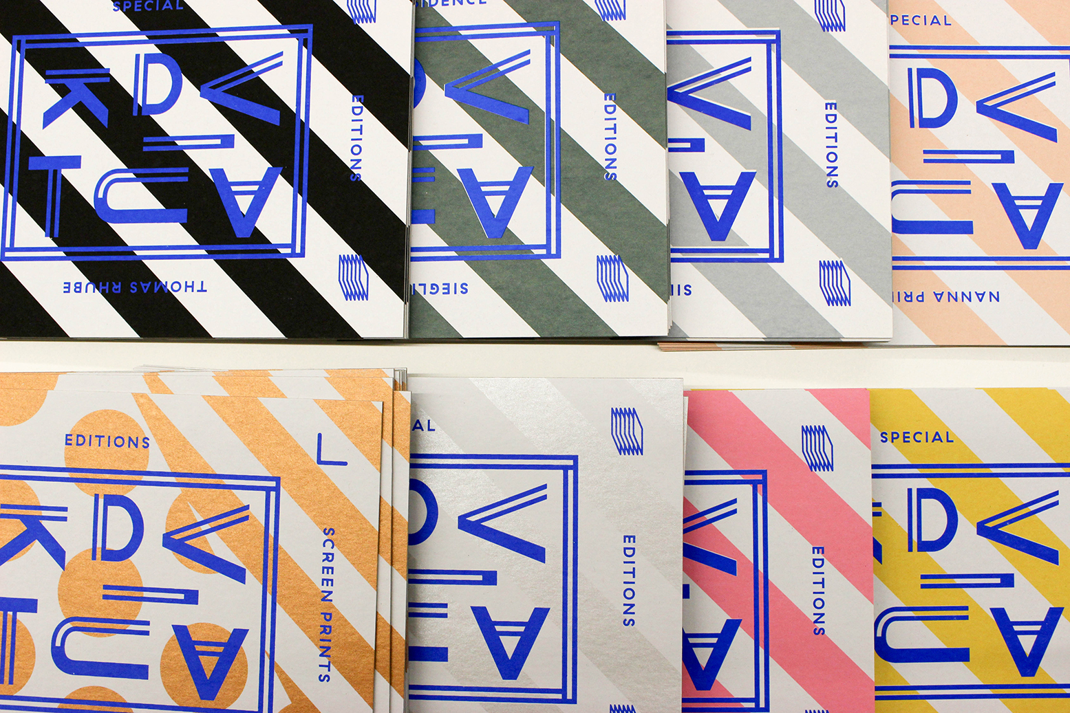 Colorful screen prints by Viaduct Screen Prints Vienna