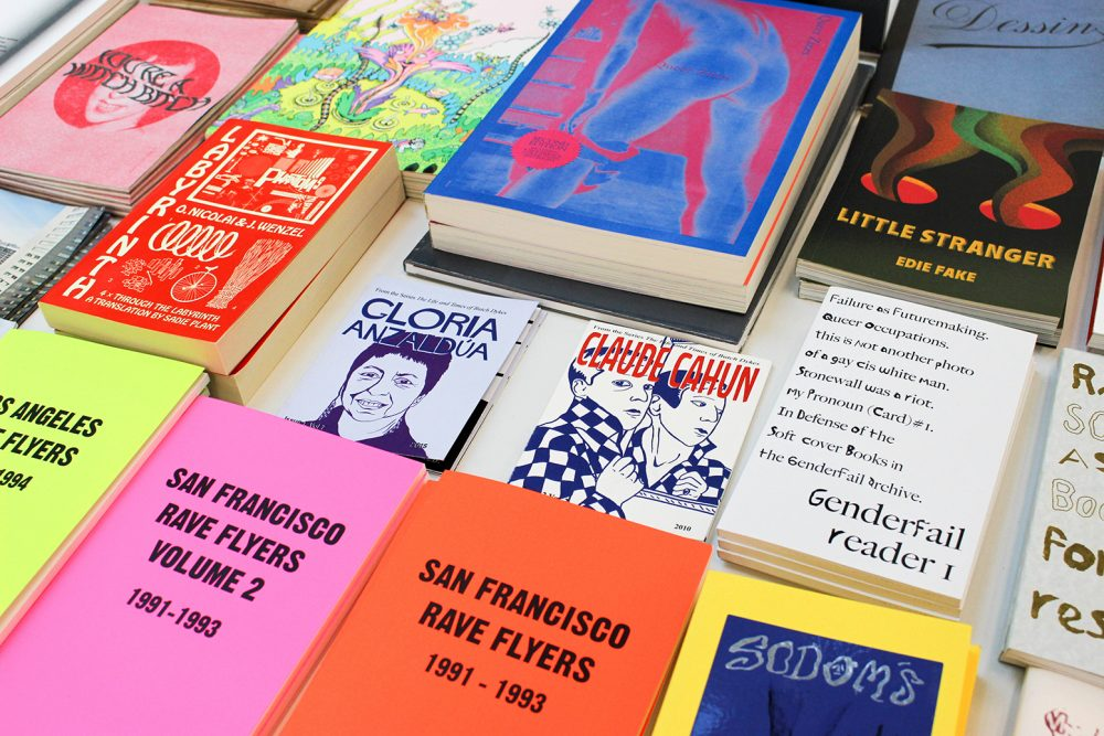Printer Matter Inc's colorful spread on art books
