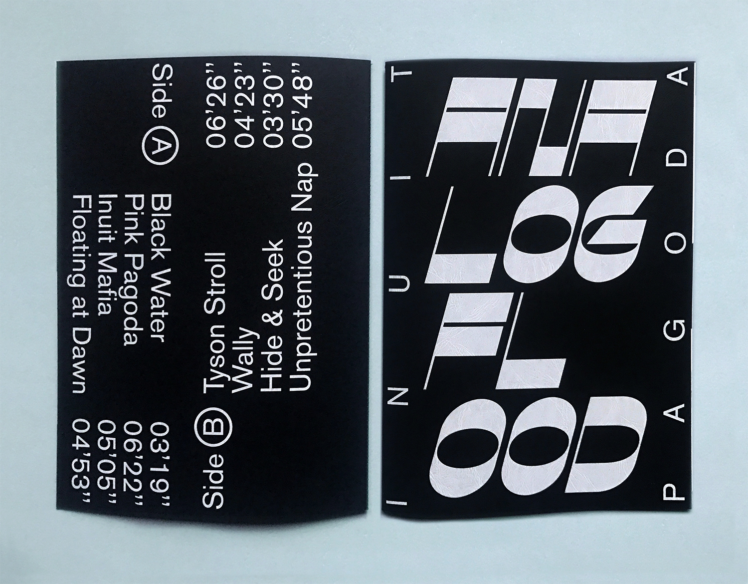 Analog Flood Booklet by Atelier U-Zehn Echoes Inuit Pagoda's Experimental Music