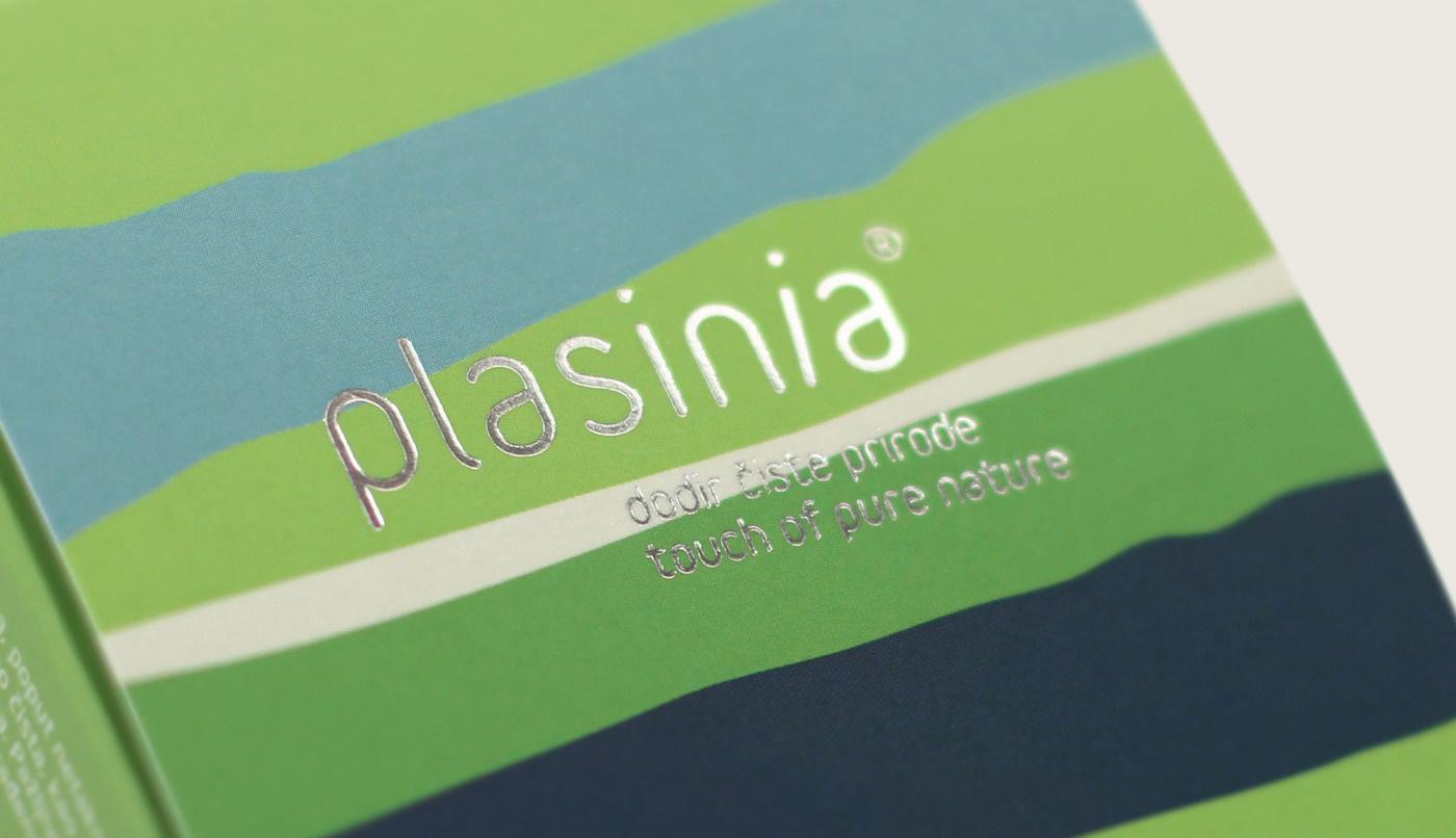 Plasinia Natural Cosmetics Visual Identity by Design Bureau Izvorka Jurić Inspired by the Lika Region