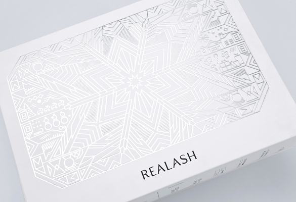 Elegantly Line Illustrated Cosmetics Gift Packaging by Tato Studio