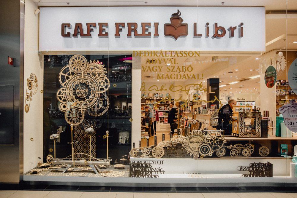 Libri Bookstore at Váli utca 3. in Budapest