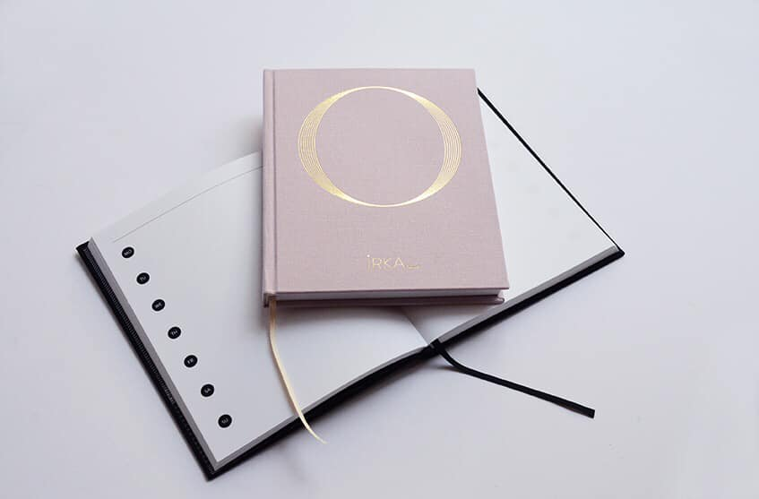 DOT For You Notebooks Teaches People to Love Analog Technology Again, IRKA BLANK notebook