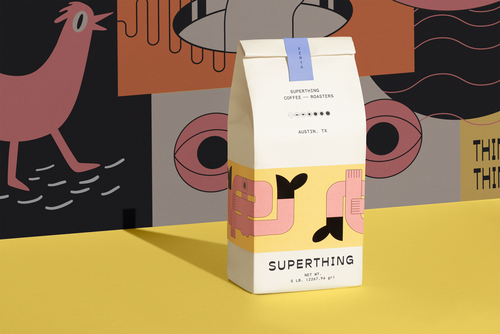 40 Contemporary & Cool Coffee Packaging Designs