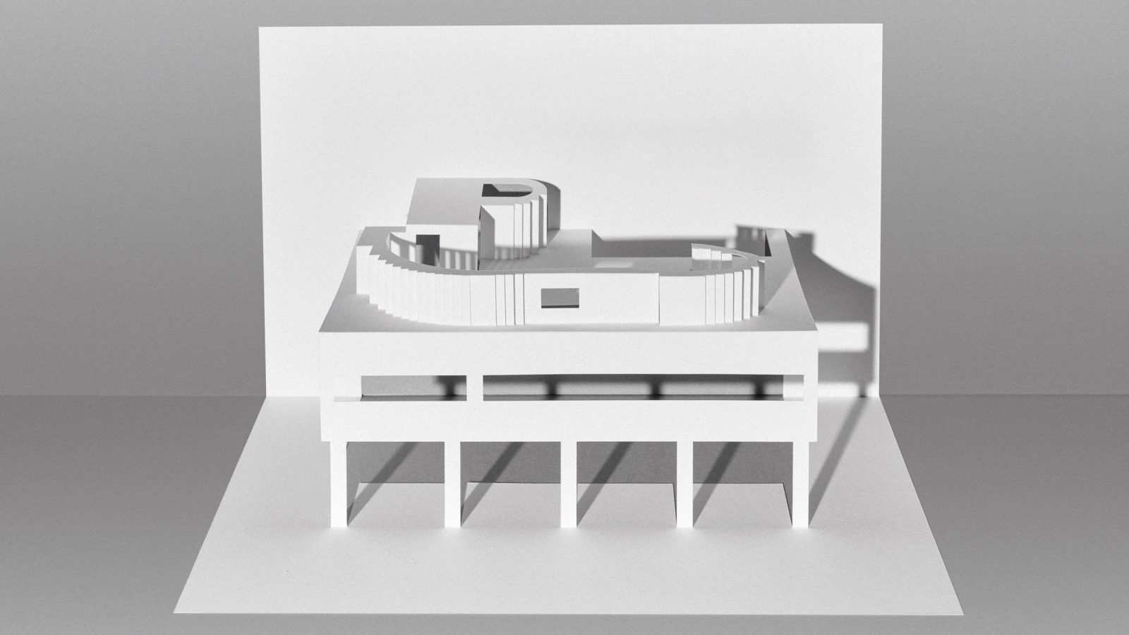 Le Corbusier Paper Models 10 Kirigami Buildings To Cut And Fold Design Paper