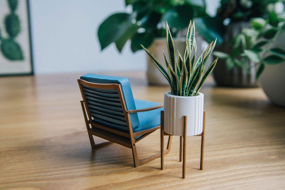 Tiny Big Paper House Plants by Raya Sader Bujana