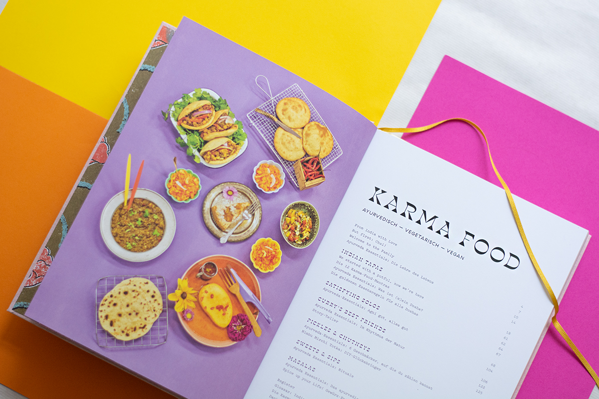 Cooking for Karma with the new Karma Foods Book