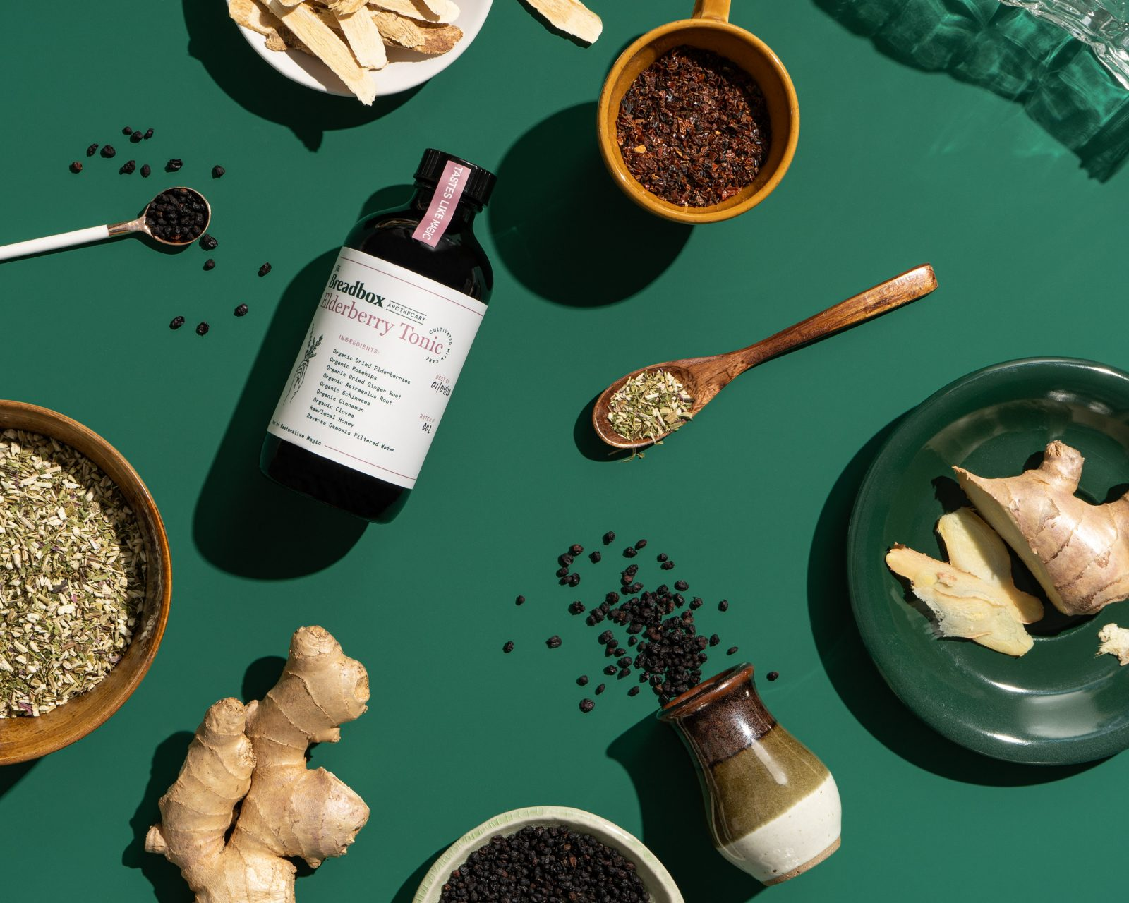 The Breadbox Apothecary Brand Identity by Hype Group