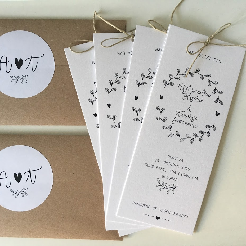 Beležnica Designs Wedding Stationery with Personalised Elegance