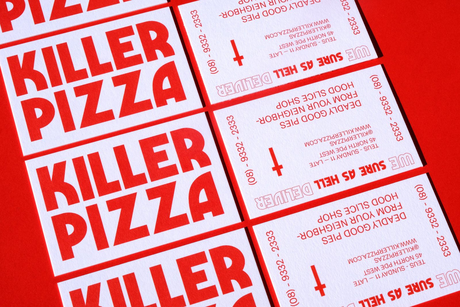 18 Snazzy Pizza Packaging and Branding Designs
