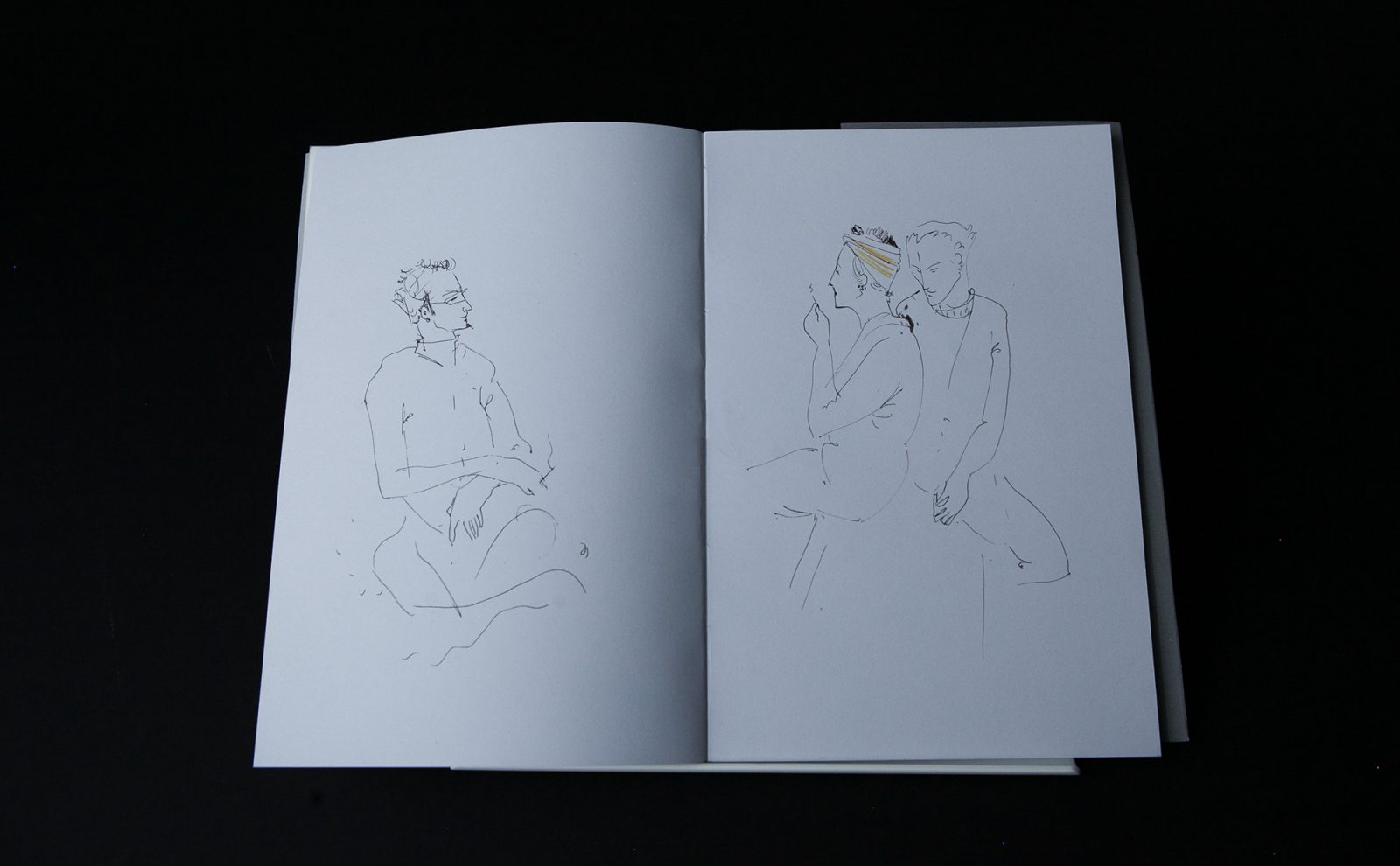 """I want to draw him"" Artbook Shows Artist's Sketches from the Streets of Yerevan, Paris, and Basel"