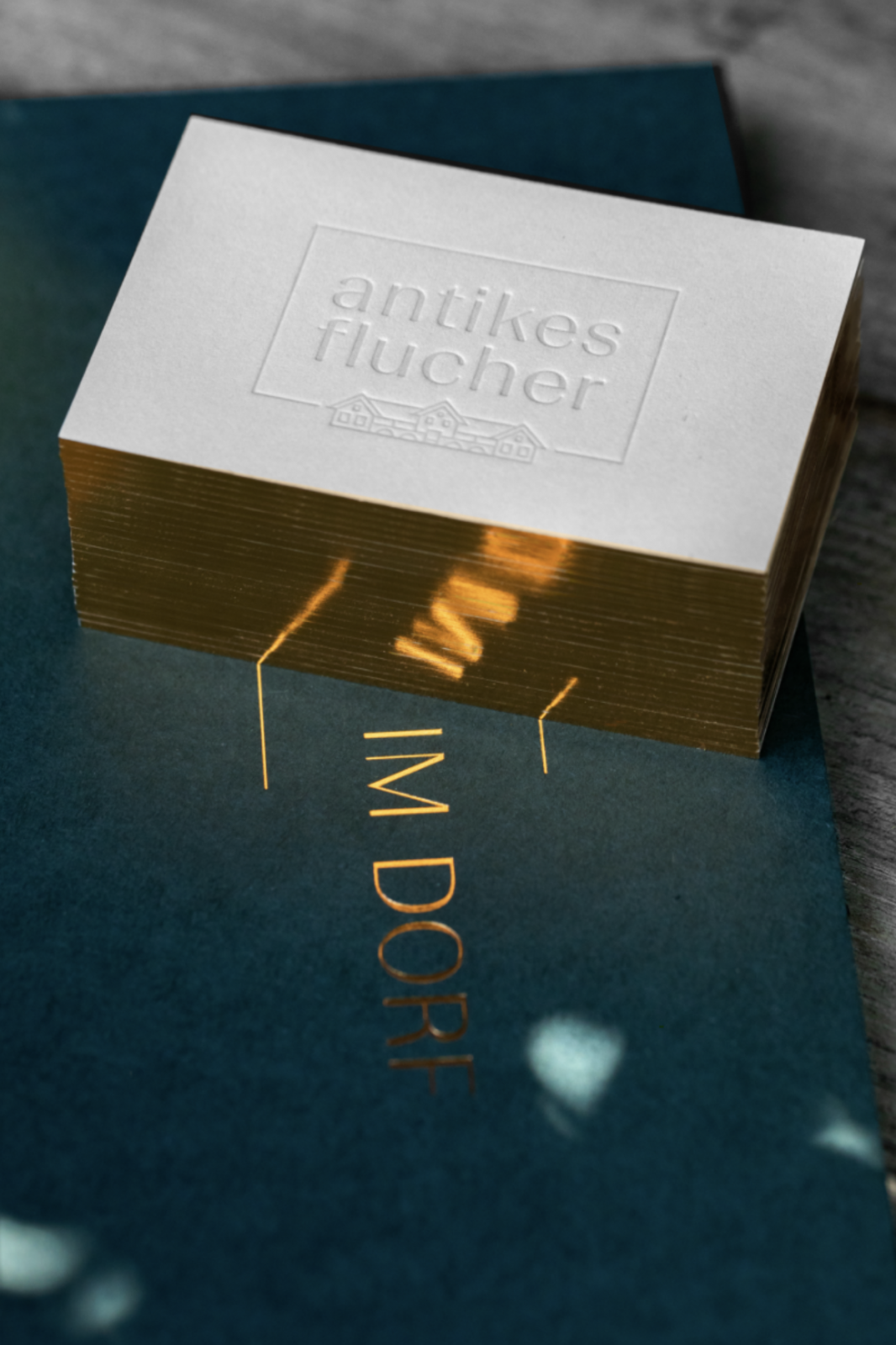 Antikes Flucher Branding by Simone Jauk Shines Like A Gemstone