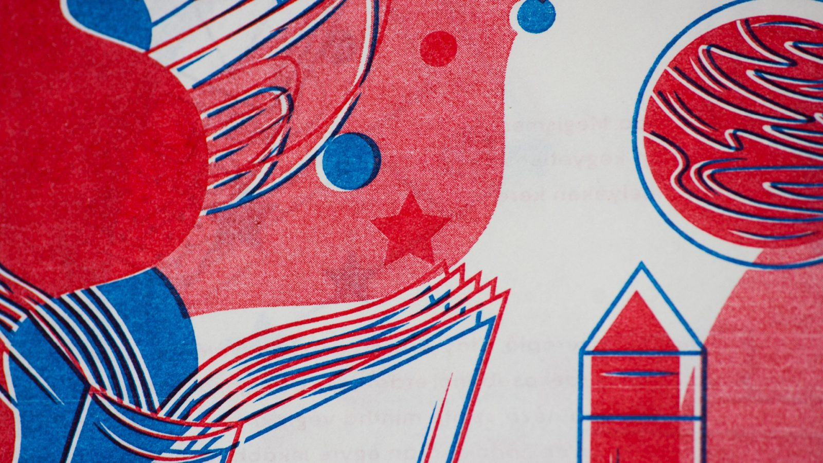 Risograph Publications by the Students of Visual Arts Institute Hungary