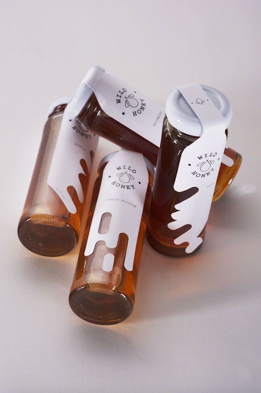most beautiful honey packaging design