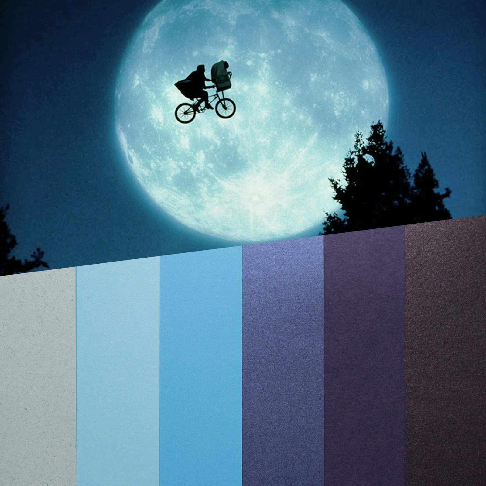 design papers collections inspired by an iconic movie scene - Et