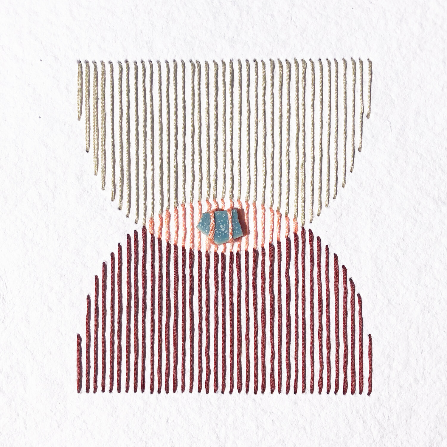 Natalie Ciccoricco's Meticulously Talented Embroidery on Paper