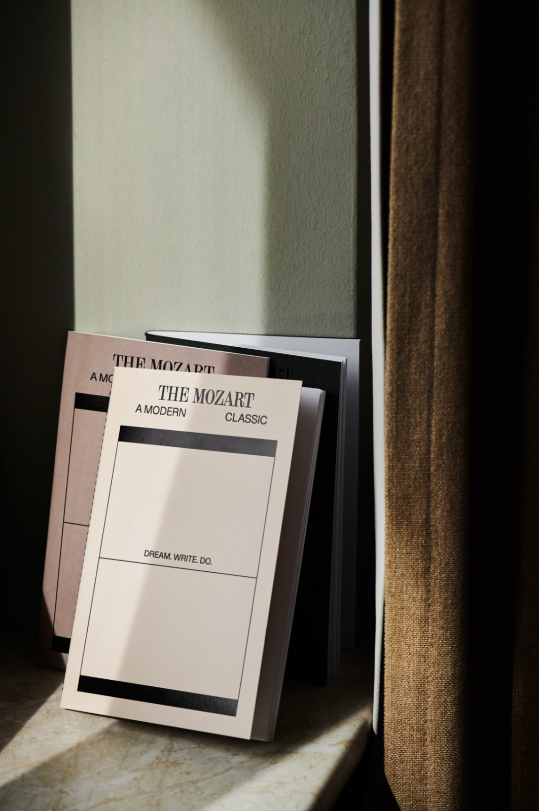 The Mozart Hotel Branding Combines Classical Notes with Contemporary Flair