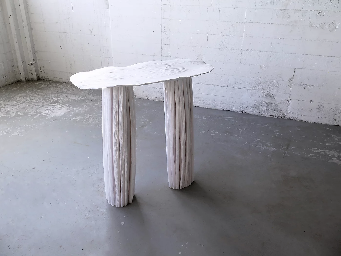 """Paper Pleats"" Paper Furniture Collection by Kao Pai Hui"