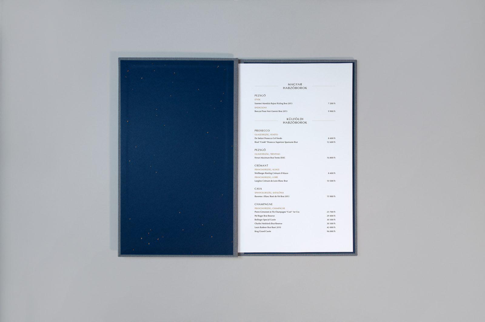 Gold Detailed Fáma Restaurant Branding by Graphasel Design Studio