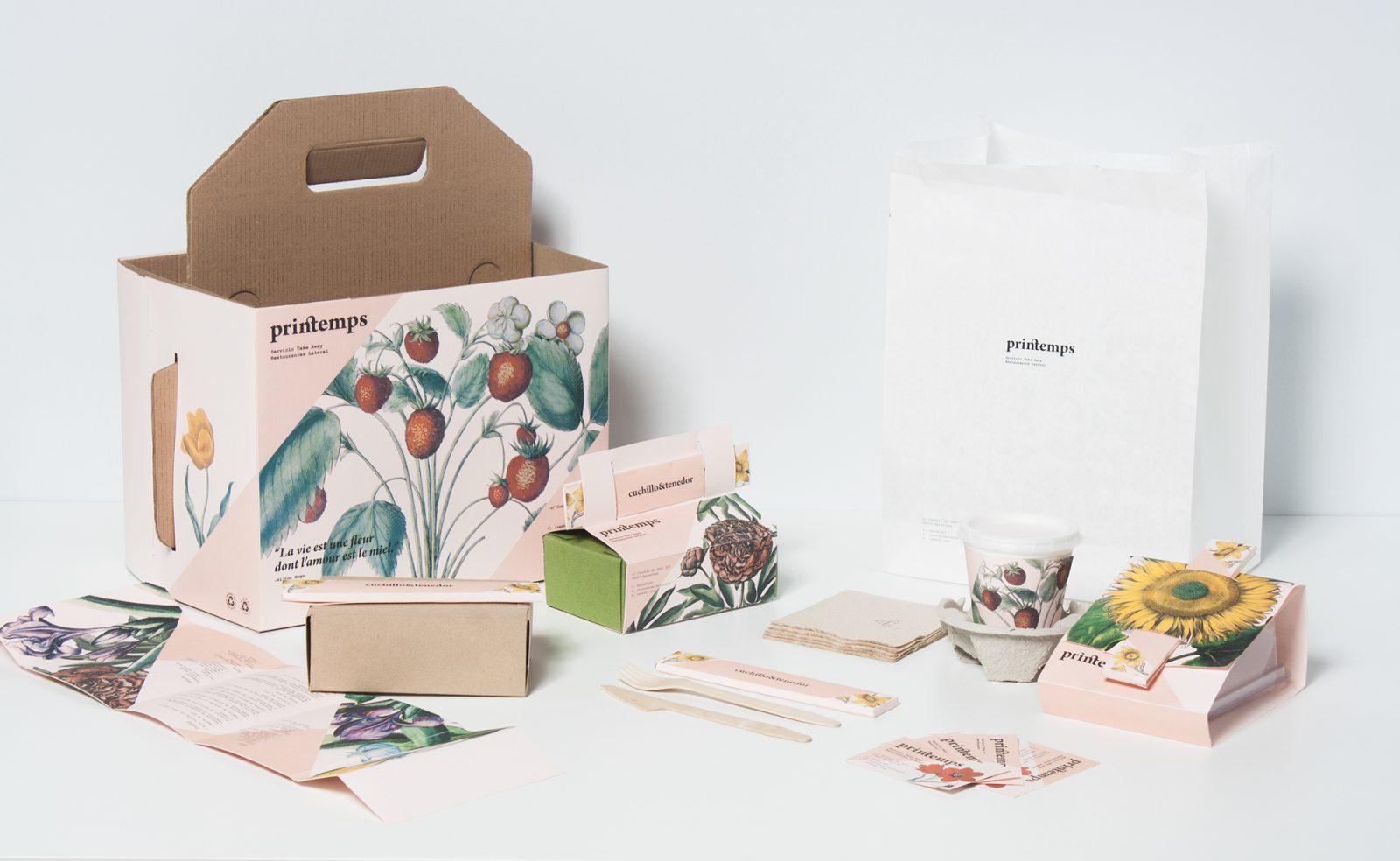 24 Terrific Take-Away Food Paper Packaging Designs
