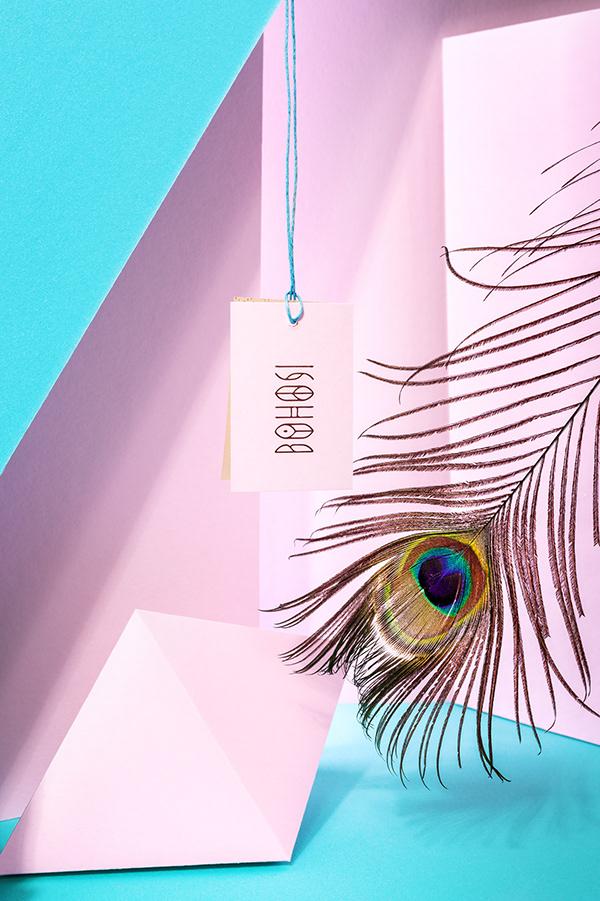 Boho Chic Inspired Bohosi Visual Identity by Marka Collective