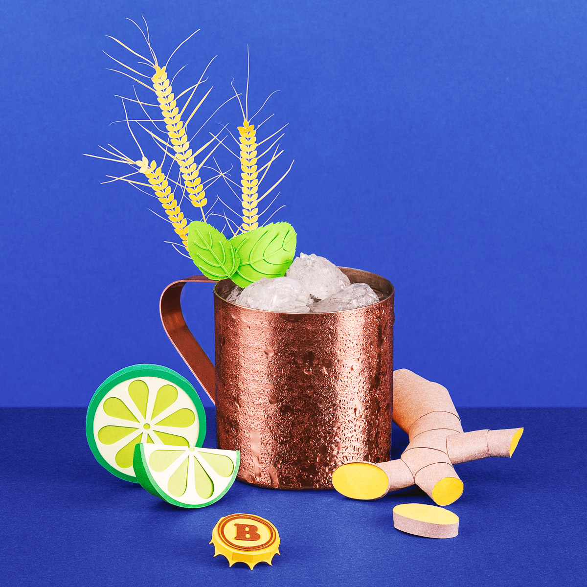 Pause Apéro Paper Illustrations of the Hottest Summer Cocktails by Get It Studio