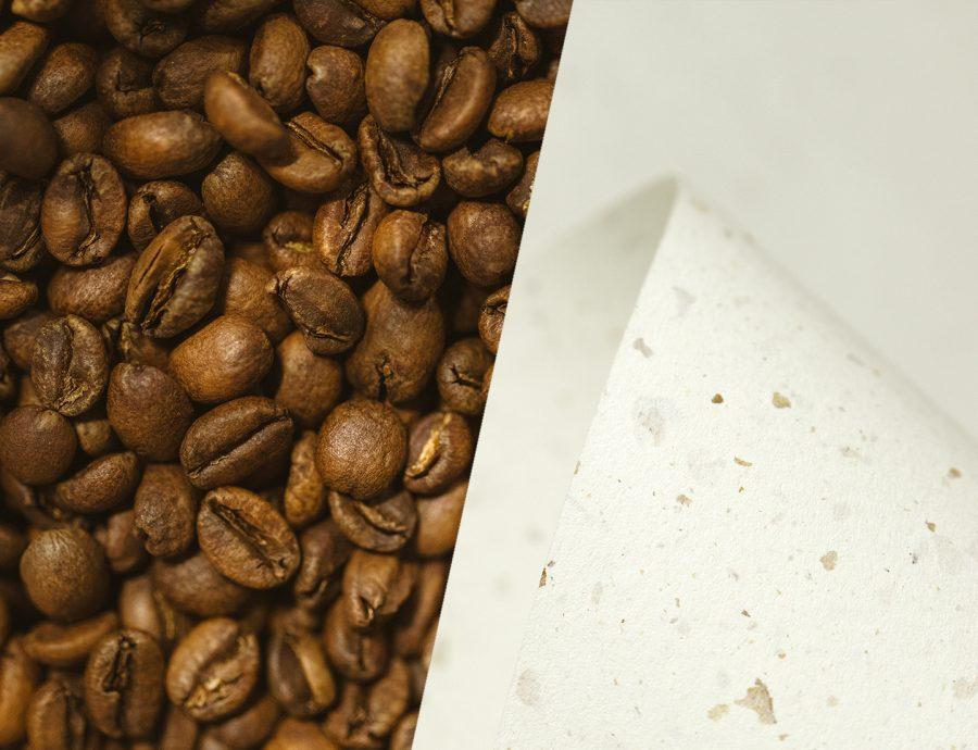 Kaffee Papier recycelt/ Coffee Paper