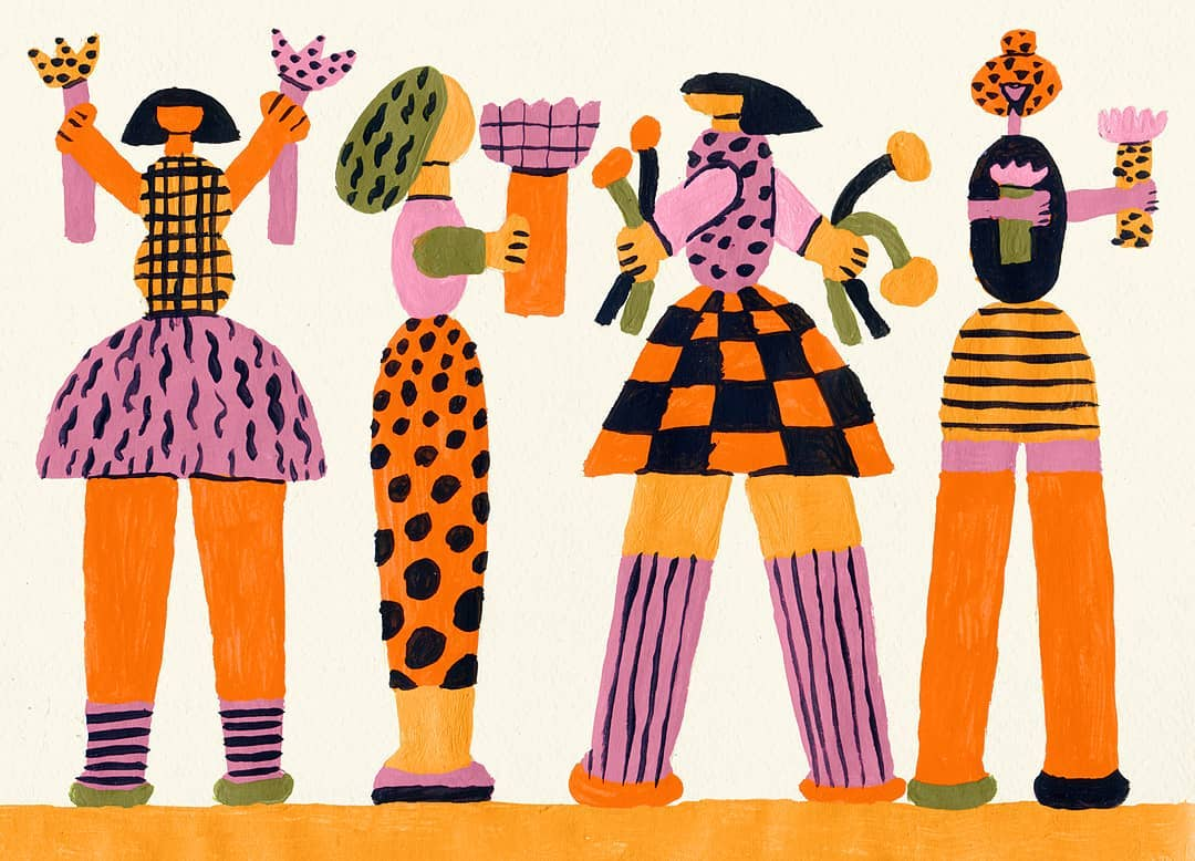 Anastacia Sholik's Eccentric Illustrations