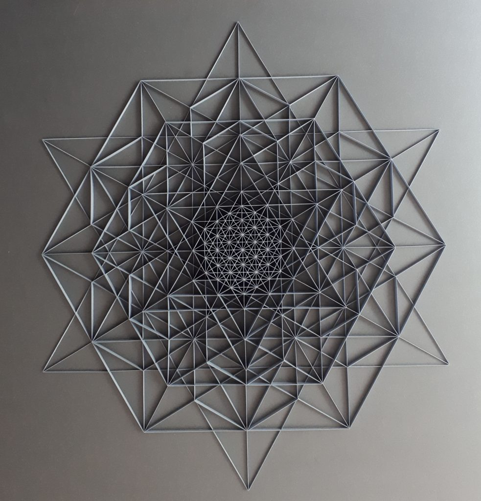 Miriam Fitzgerald Juskova's Paper Artwork is Inspired by Geometry and Mathematics
